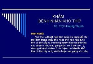 KHM BNH NH N KH TH TS Trn