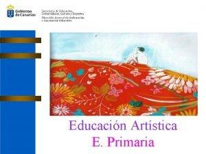Educacin Artstica E Primaria Currculo de Educacin Artstica