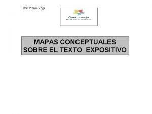 Ivn Pizarro Vega MAPAS CONCEPTUALES SOBRE EL TEXTO
