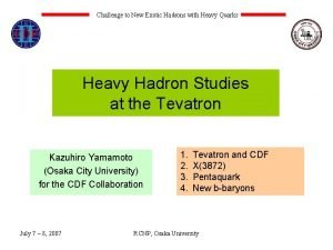 Challenge to New Exotic Hadrons with Heavy Quarks
