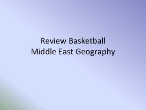 Review Basketball Middle East Geography Letter B BEST