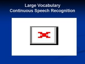 Large Vocabulary Continuous Speech Recognition Subword Speech Units