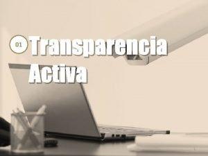 01 Transparencia Activa 1 Transparencia Activa Cumplimiento histrico