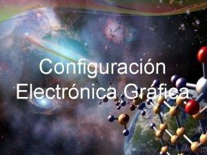 Configuracin Electrnica Grfica Introduccin La configuracin grfica tiene