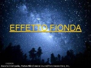 EFFETTO FIONDA 1222020 DEFINIZIONE DIMOSTRAZIONE CON CALCOLI CASI