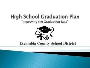 High School Graduation Plan Improving the Graduation Rate