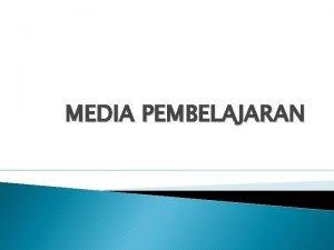 MEDIA PEMBELAJARAN Media Grafis Media bagan chart Grafik