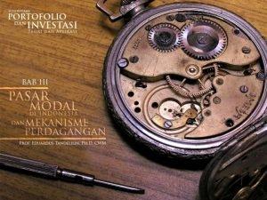 PASAR MODAL DI INDONESIA 139 Pasar modal Indonesia