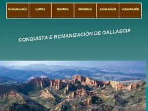 INTRODUCIN TAREFA PROCESO RECURSOS AVALIACIN CONCLUSIN ECIA A