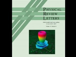 Phys Rev Letters Cover Detecting POAM with Arecibo