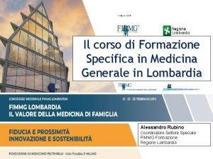 Il corso di Formazione Specifica in Medicina Generale