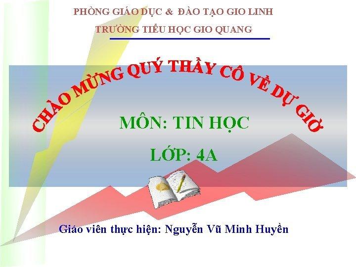 PHNG GIO DC O TO GIO LINH TRNG