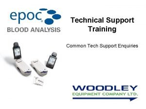 Technical Support Training Common Tech Support Enquiries 1