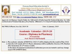 Pravara Rural Education Societys Golden Jubilee Year of