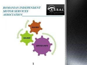 ROMANIAN INDEPENDENT MOTOR SERVICES ASSOCIATION INSURED INSURER SERVICE
