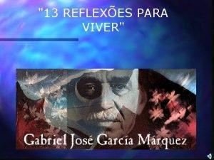 13 REFLEXES PARA VIVER Querote no por quem