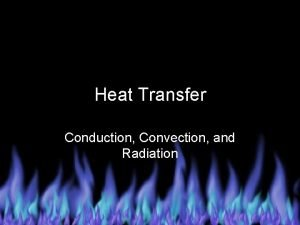 Heat Transfer Conduction Convection and Radiation Basic Guidelines