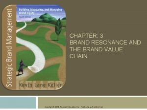 CHAPTER 3 BRAND RESONANCE AND THE BRAND VALUE