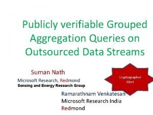 Publicly verifiable Grouped Aggregation Queries on Outsourced Data