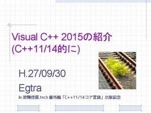 Visual Studio 2015 2015 7 RTM Visual C