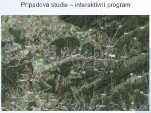 Ppadov studie interaktivn program Ppadov studie interaktivn program