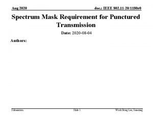 Aug 2020 doc IEEE 802 11 201180 r