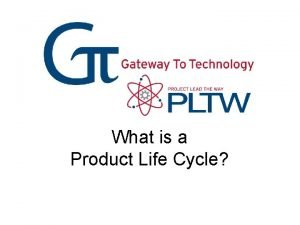 What is a Product Life Cycle Product Life