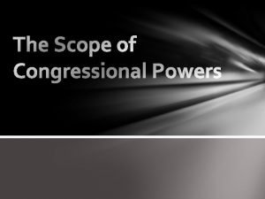 Powers of Congress Expressed Implied Inherent Constructionists Strict