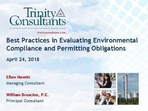 Best Practices in Evaluating Environmental Compliance and Permitting