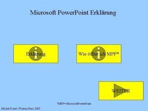 Microsoft Power Point Erklrung Wie ffne ich MPP