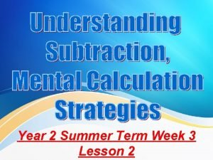 Year 2 Summer Term Week 3 Lesson 2