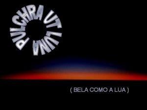 BELA COMO A LUA ALPHONSUS DE GUIMARAENS BELA