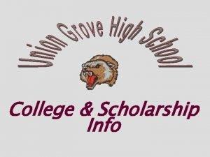 College Scholarship Info Join The Senior SCHOLARSHIP Newsletter