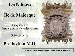 Les Balares le de Majorque Cinquime et dernire