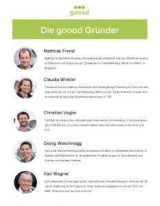Die goood Grnder Matthias Frenzl Matthias ist MobilfunkExperte