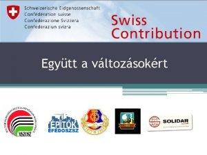 Egytt a vltozsokrt Kisprojekt vgrehajt projekt partnerek Magyar