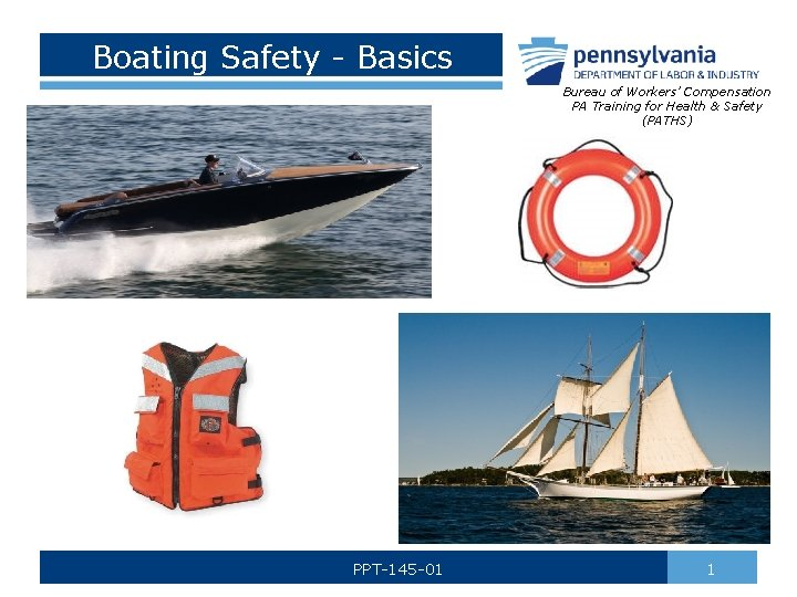 Boating Safety Basics Bureau of Workers Compensation PA