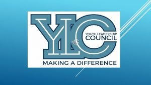THOMASVILLE YOUTH LEADERSHIP COUNCIL Youth Leadership Council host