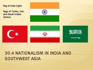flag of India right flags of Turkey Iran