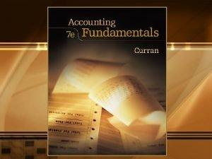 CHAPTER NINE Principles of Accounting 3 PRINCIPLES OF