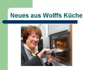 Neues aus Wolffs Kche Unterrichtsgarantie plus Kein Kind