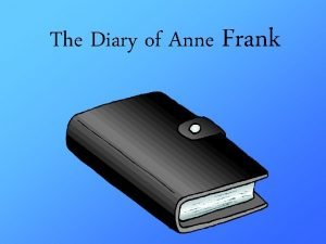 The Diary of Anne Frank Annelies Marie Frank