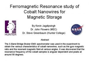Ferromagnetic Resonance study of Cobalt Nanowires for Magnetic