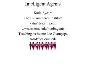 Internet Agents Web search Agents Information filtering agents