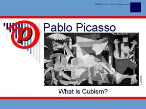 Click Box to View a Movie of Picassos