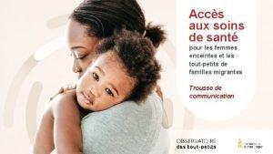 Accs aux soins de sant pour les femmes