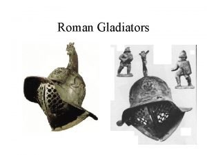 Roman Gladiators Modern Stereotypes Thumbs Down JeanLon Grme
