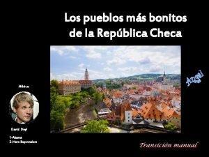 Los pueblos ms bonitos de la Repblica Checa