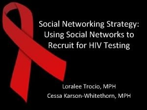 Social Networking Strategy Using Social Networks to Recruit