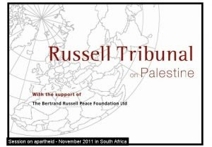 Session on apartheid November 2011 in South Africa